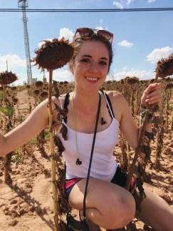 living abroad madrid spain ellen hietsch sunflowers learning