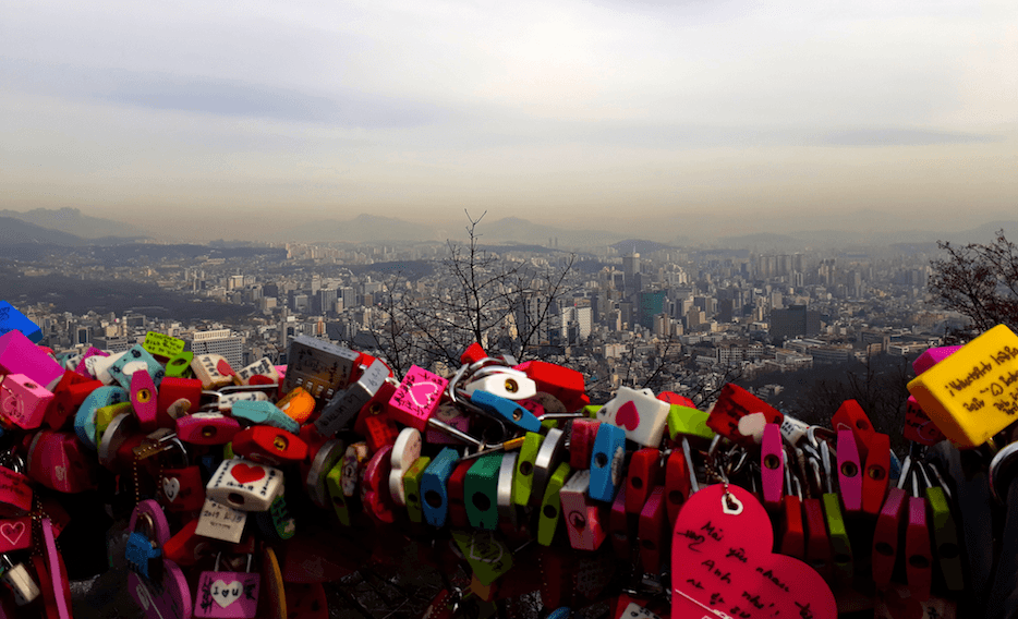 studying abroad locks seoul south korea travel abroad