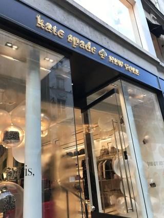 kate spade paris fashion week traveling