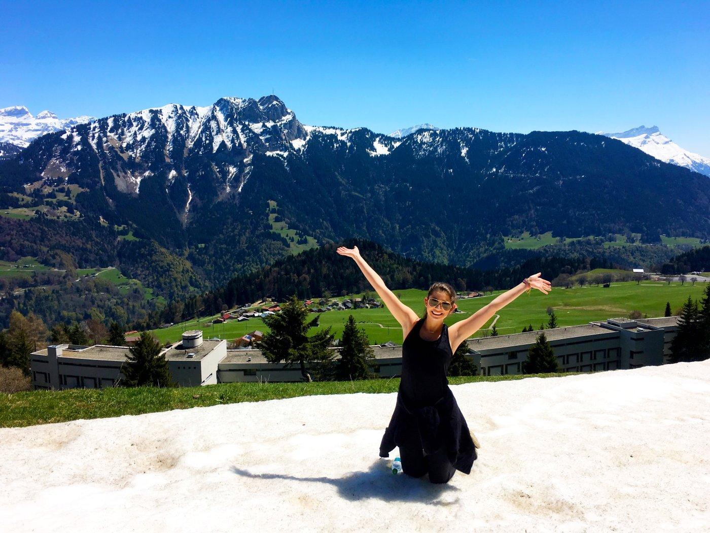 personal growth traveling abroad leysin switzerland FSU student