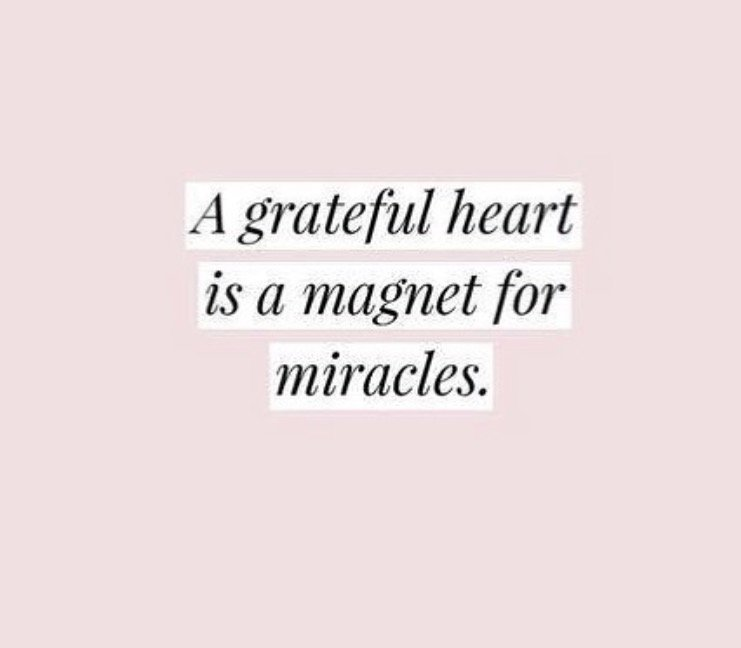 quote grateful heart