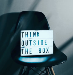 think out side the box teach lessons