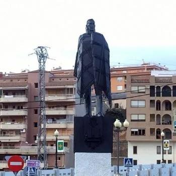 la manta statue