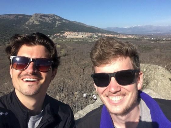 alex warhall hiking