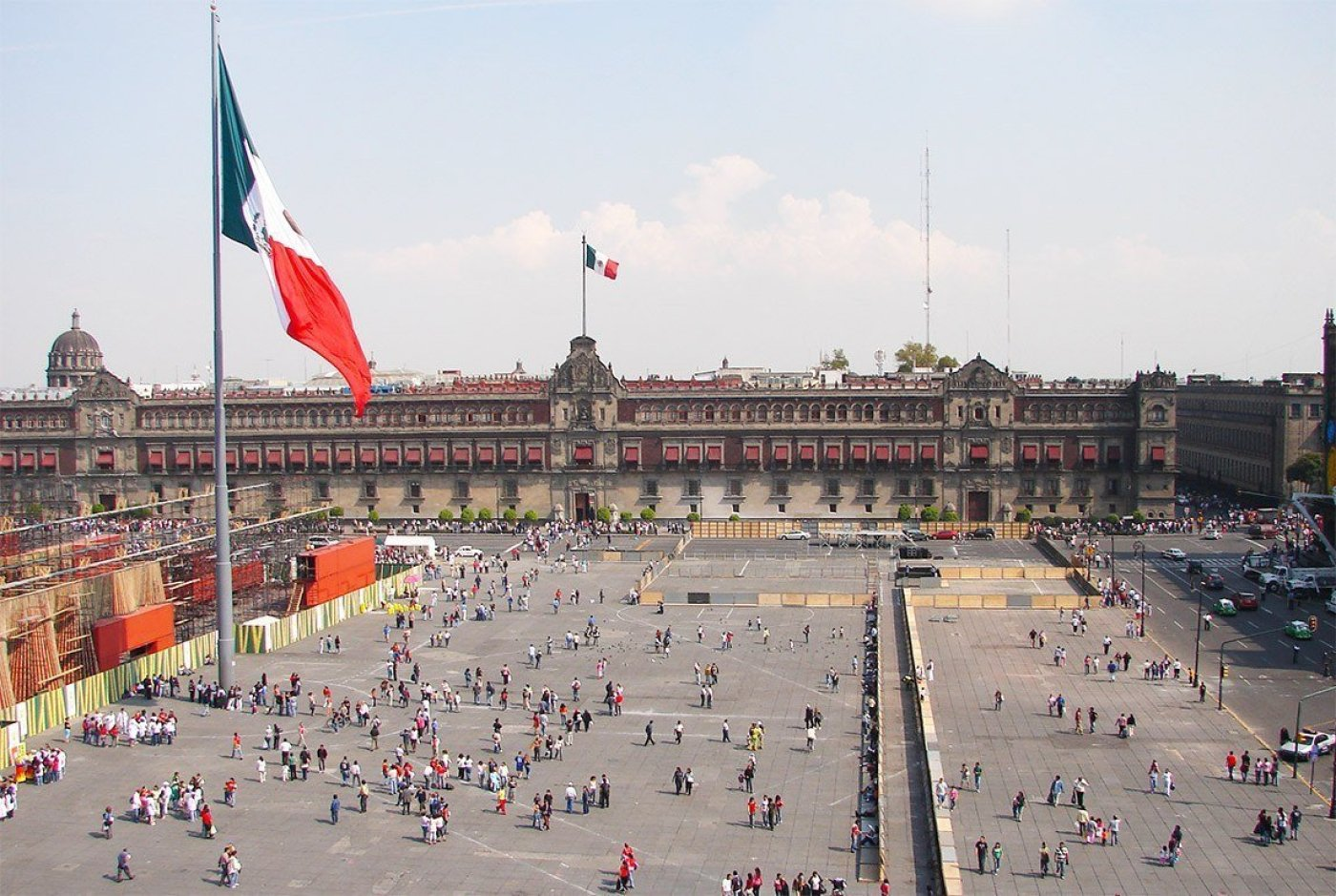 Arriving in Mexico City