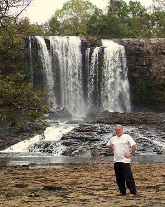 Bousra Waterfall Cambodia