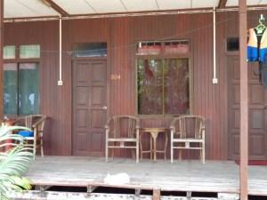 My bungalow at Nazri's in Air Batang.