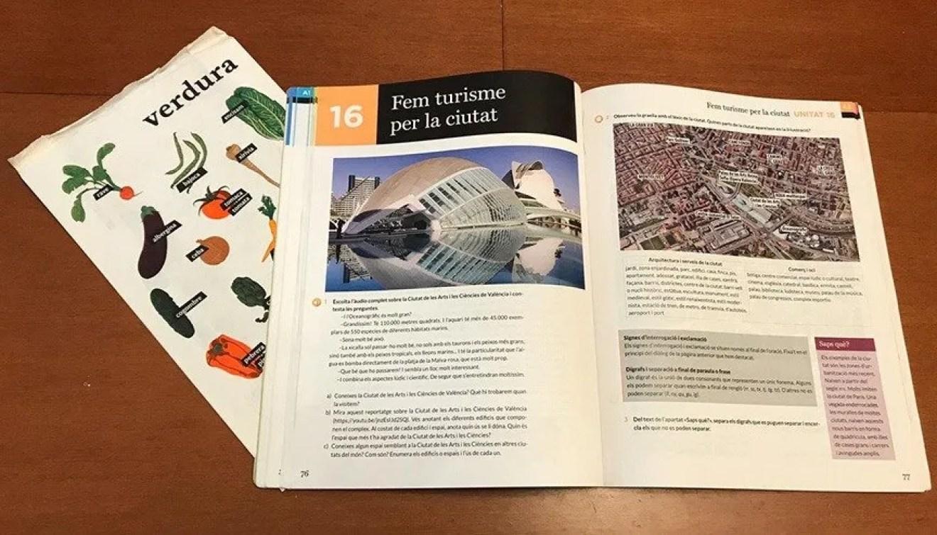 De Dalt a Baix a beginners' Valenciano textbook