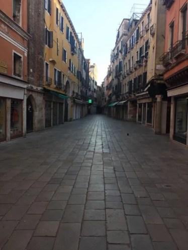 Empty Italy Streets