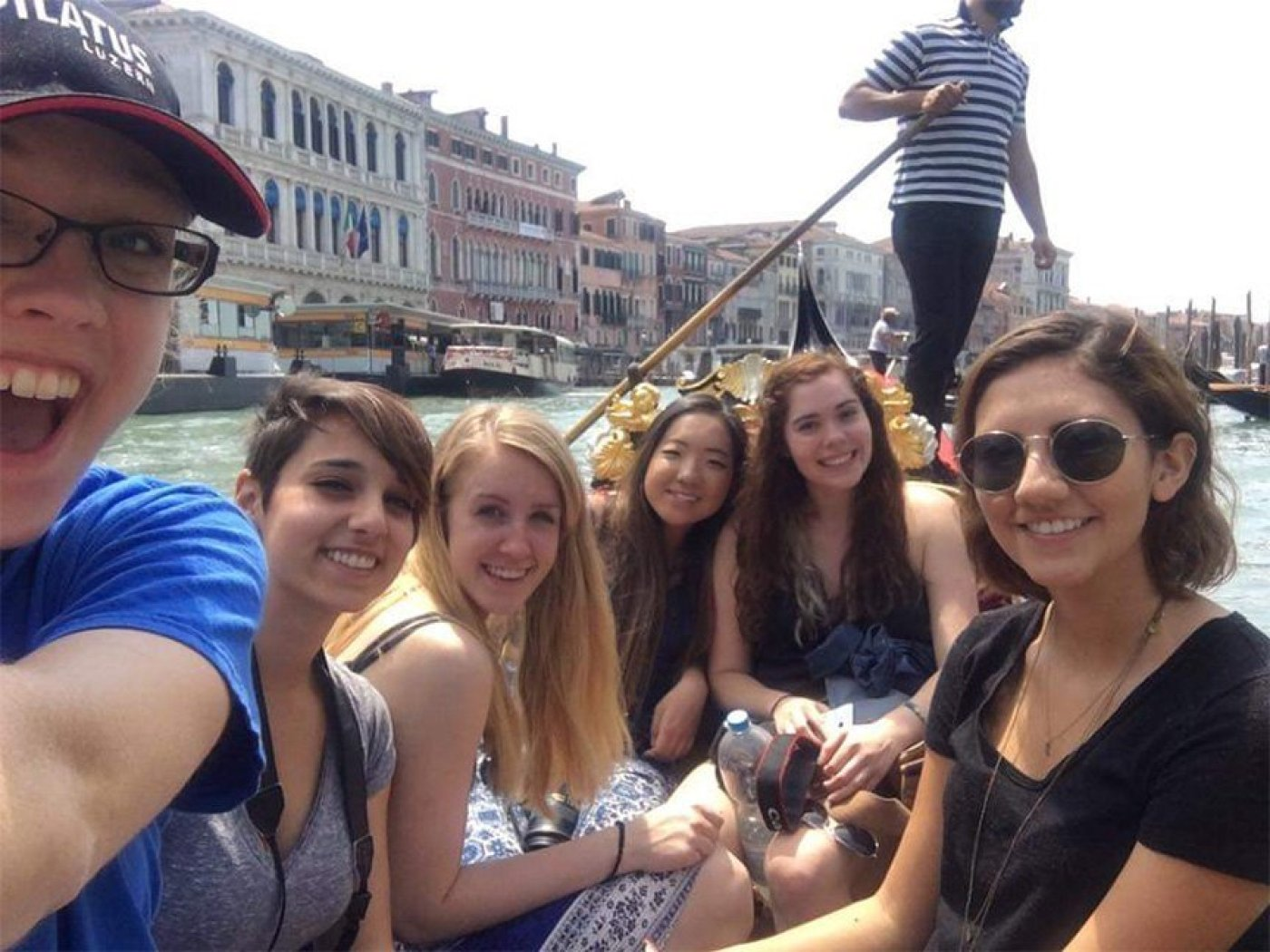 Gondola Ride with friends
