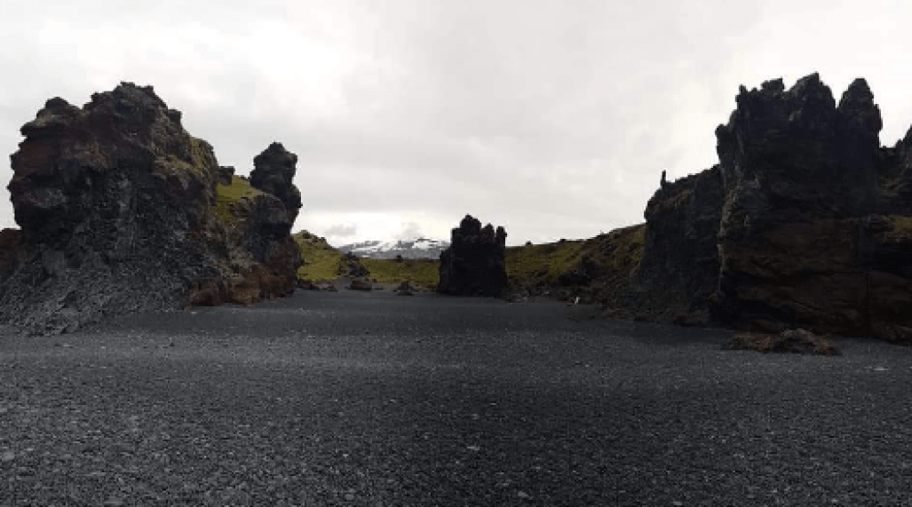 Iceland rocks and westfords