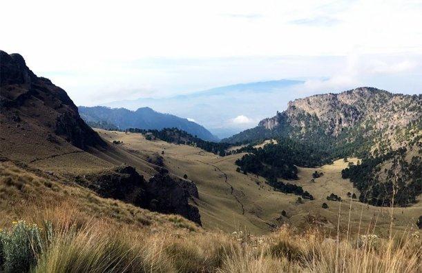 Iztaccihuatl Volcano