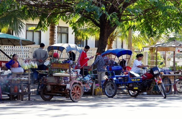 Pakse, Laos street scene