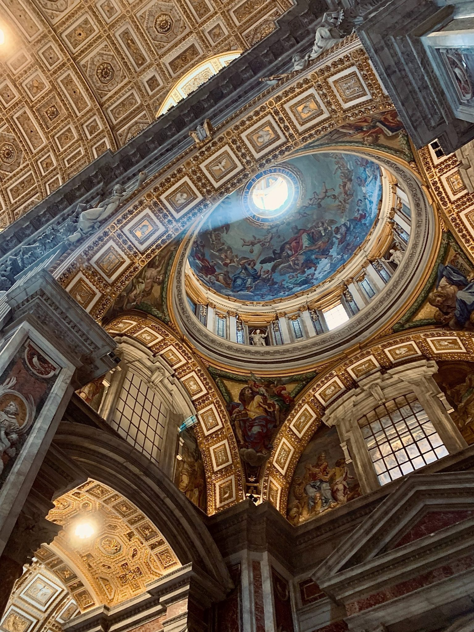 Another picture of the dome of St. Peter's Basilica in the Vatican City