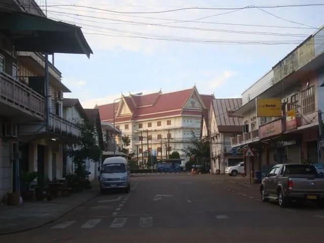 Streets of Pakse, Laos