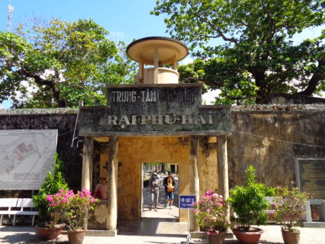 Entrance to Trai Phu Hai Prison on the Con Dao Islands.