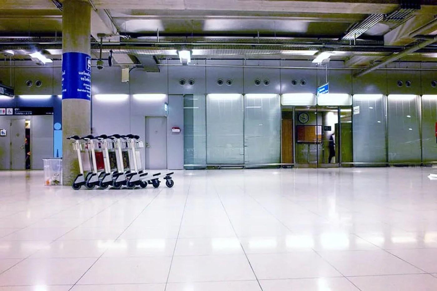 airport thailand COVID-19
