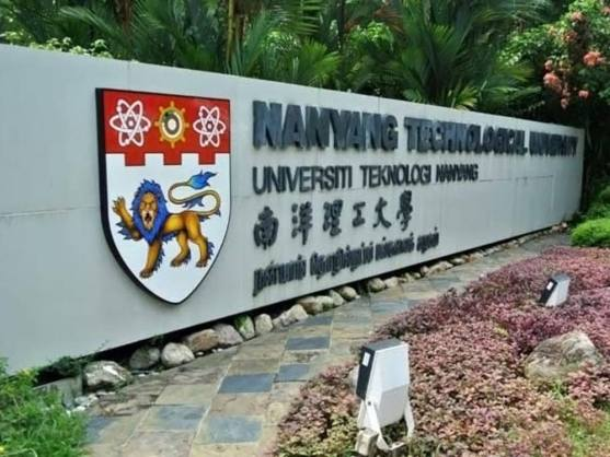 Nanyang Technological University sign