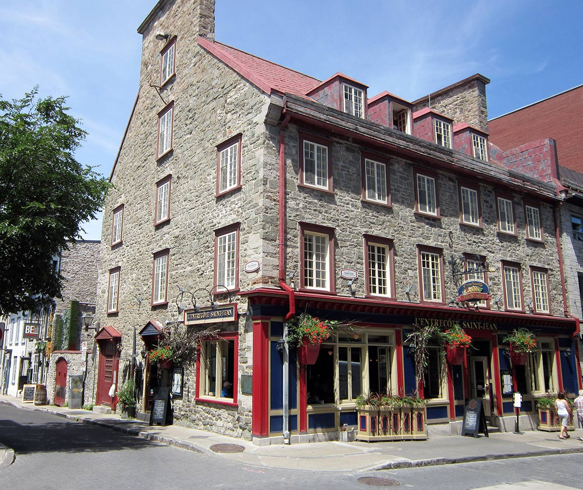 old world charm of old quebec city