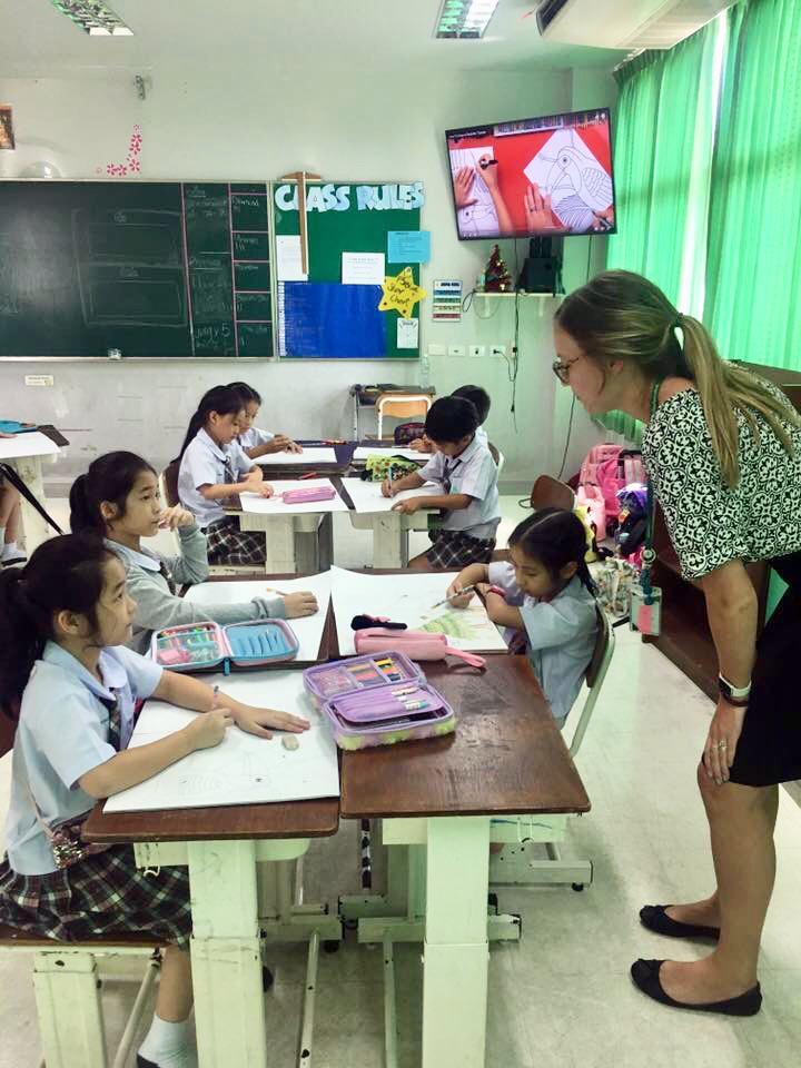 teaching thai students in Thailand?