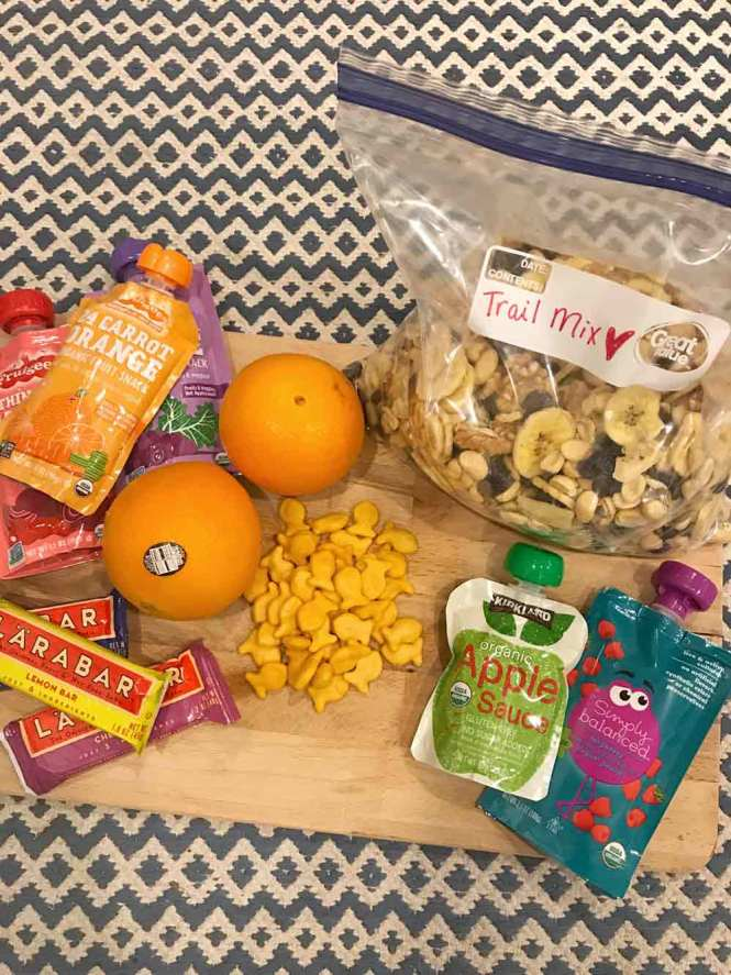 road-trip clean eating snacks