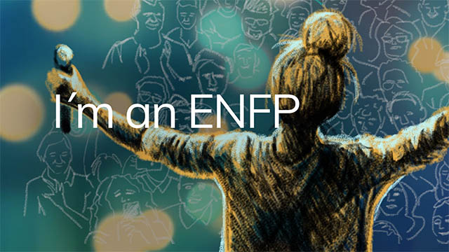 I am an enfp type