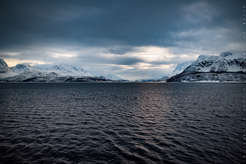 océan senja tromso hiver Norvège fjord