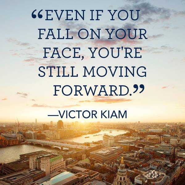 Positive Quotes On Moving Forward: Inspirational Quotes: Still Moving Forward Even Fall