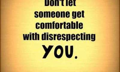 Inspirational Thoughts on Success Don't Let Disrespecting You life quotes