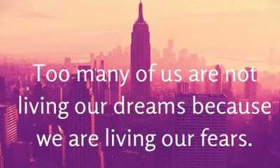 Positive quotes inspirational thought life living our dreams
