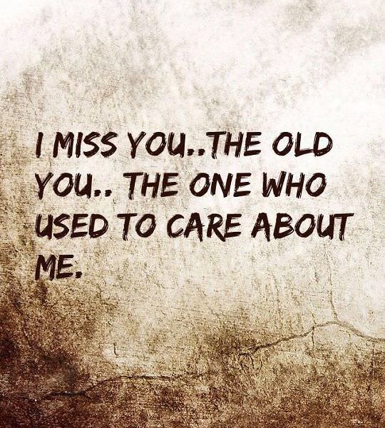Miss You Sad Love Quotes: Sad Love Quotes About Love Sayings I Miss You Who Care