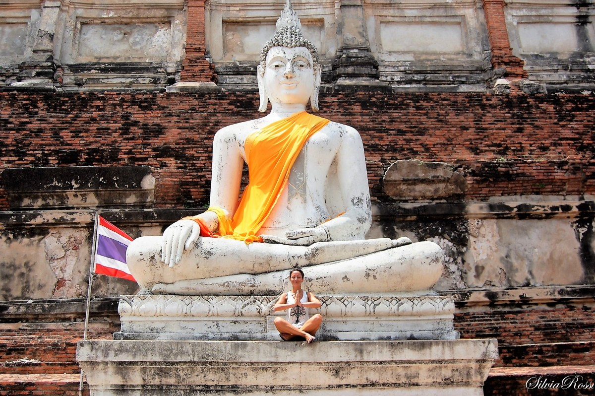 Meditation in Ayutthaya