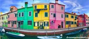 Burano houses