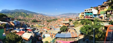 Medellin view from Comuna13