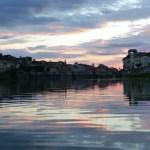la navigazione sull'Arno