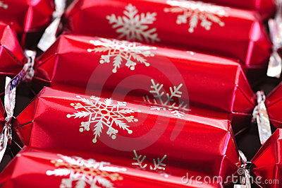 Christmas Crackers Royalty Free Stock Photography