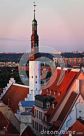 Estonia: Old Town Of Tallinn Stock Photo - Image: 18727550
