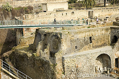 Stock Photo: Herculaneum excavations 9, Naples, Italy. Image: 948150