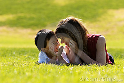 Mother & Son Royalty Free Stock Images - Image: 1821419