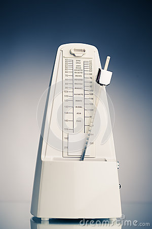 Music Metronome Royalty Free Stock Image - Image: 27081366