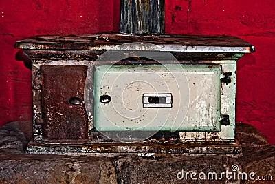 Stock Photos: Vintage stove. Image: 13135713