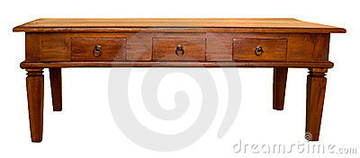 Stock Photos: Wooden Coffee Table. Image: 4484883