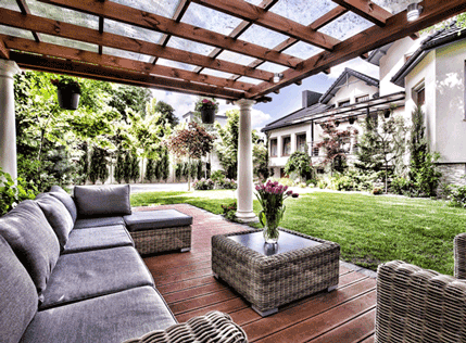 Patio Cover Ideas For Your Outdoor Spaces | Dreamstyle ... on Backyard Patio Cover Ideas  id=45447