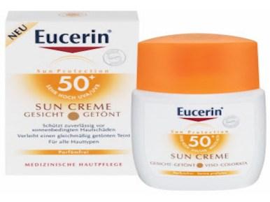 cosa mettere nel beauty case delle vacanze: sun CREME 50+ di Eucerin