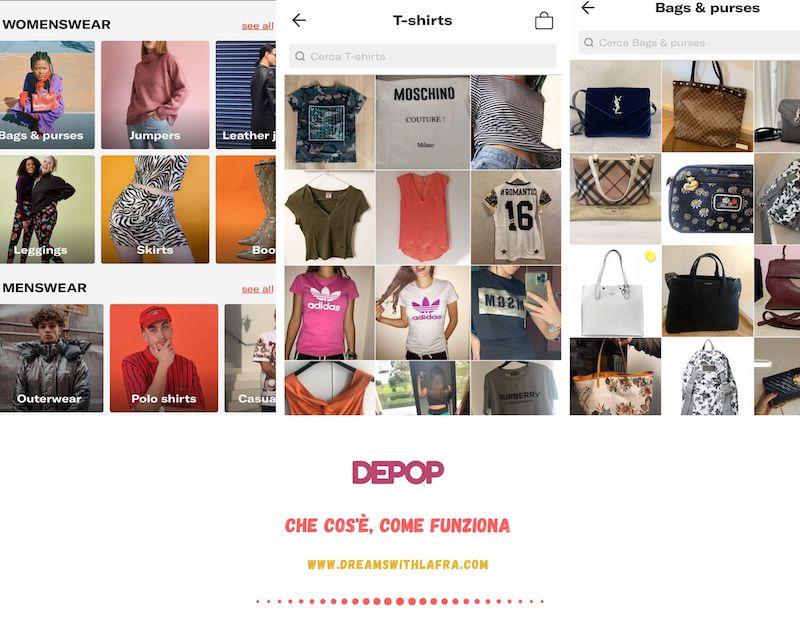 Depop: utilizzata dalle fashion blogger