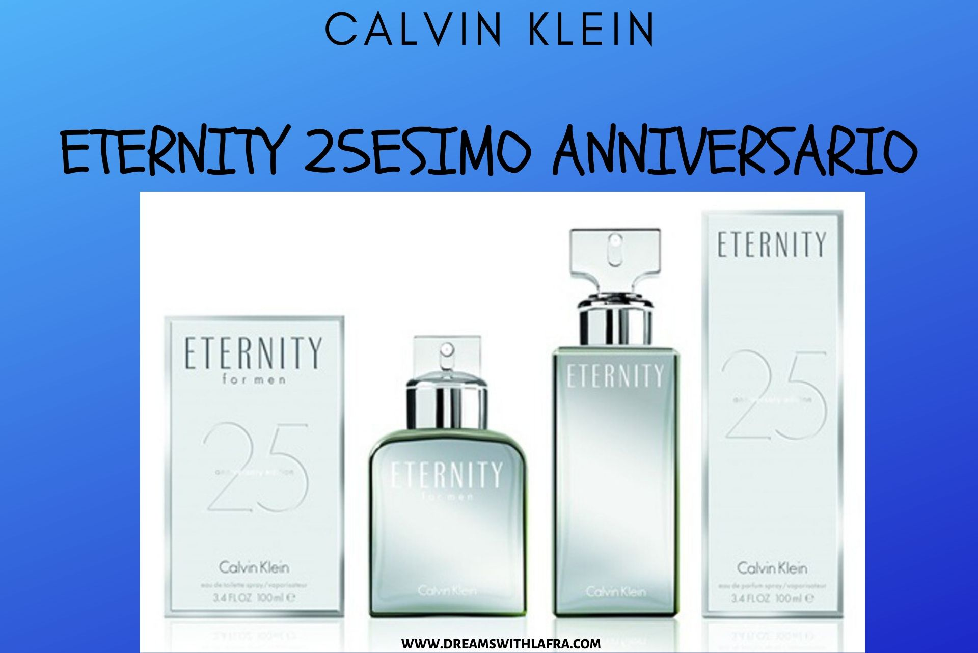 Calvin Klein Eternity 25esimo anniversario