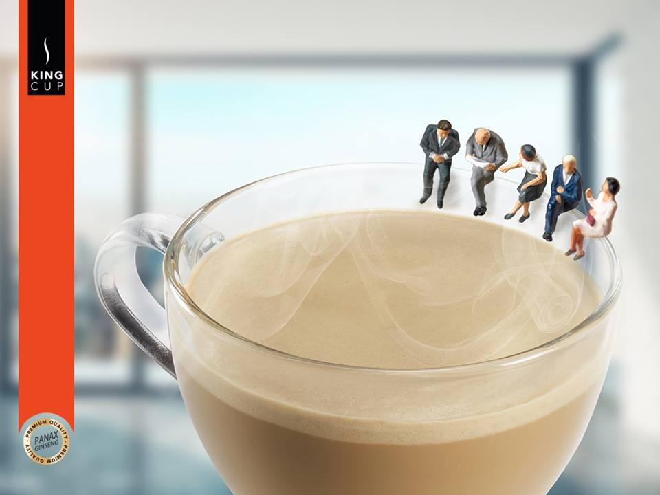 King Cup Coffee un ottimo caffè al ginseng da comprare
