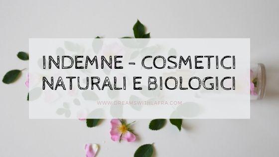 Indemne - Cosmetici naturali e biologici