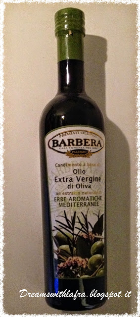 olio extra vergine di oliva aromatizzato erbe aromatiche