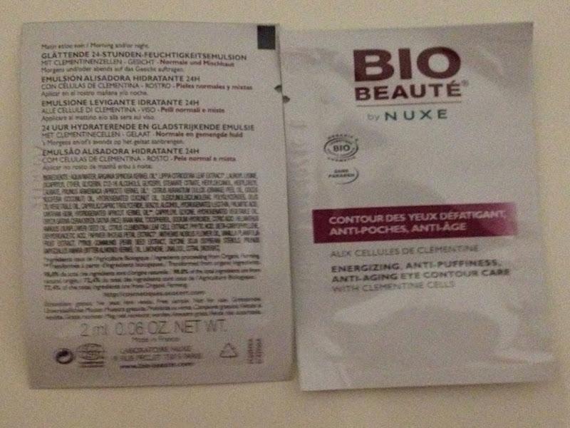 Bio Beauté By Nuxe Light Emulsion Clementine Tube&Contour des Yeux de Bio Beauté by Nuxe